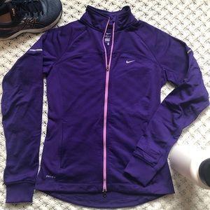 Nike women's running jacket small